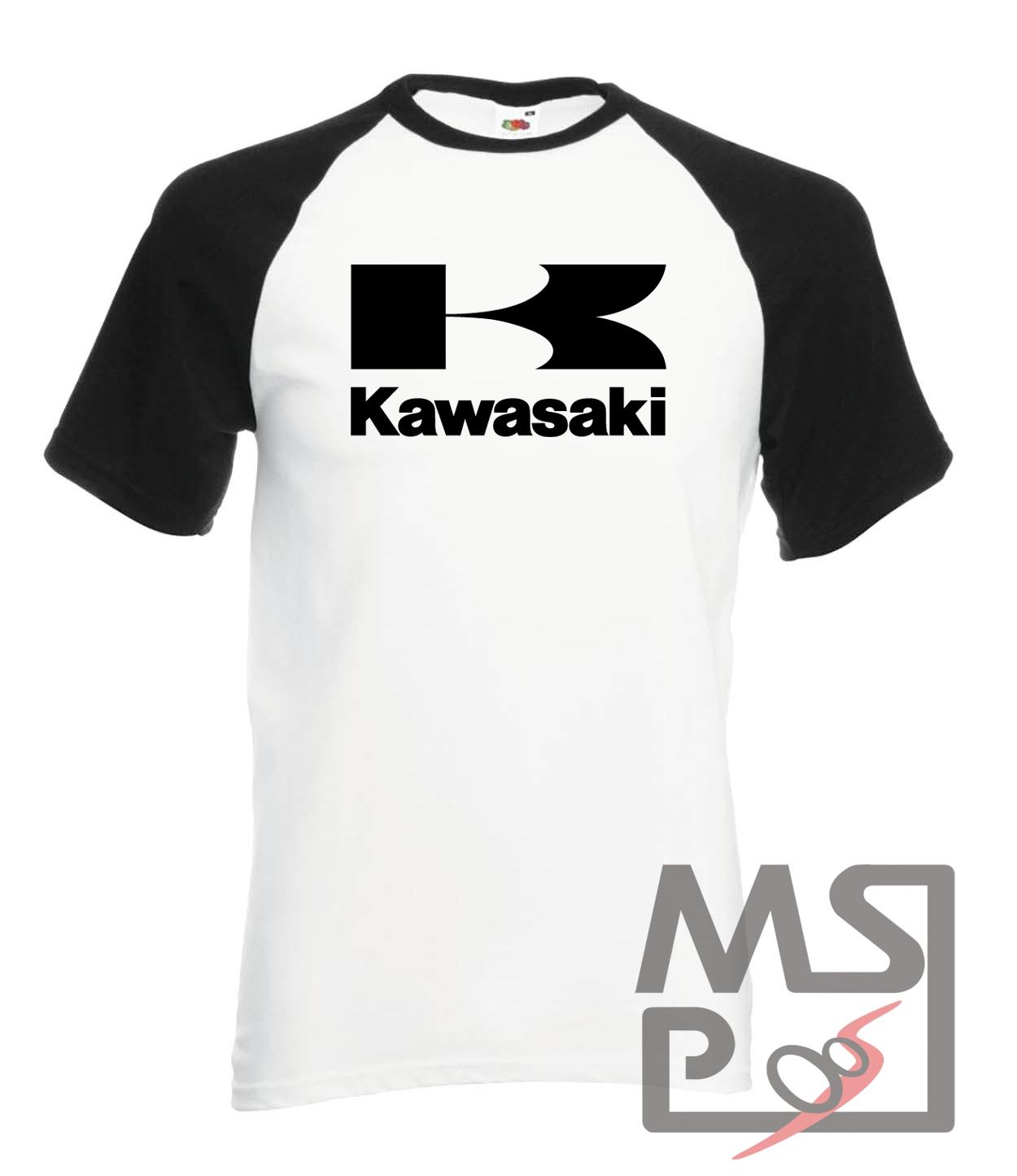 Tričko s motívom Kawasaki 24