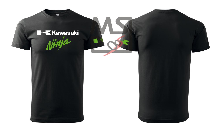 Tričko s motívom Kawasaki Ninja