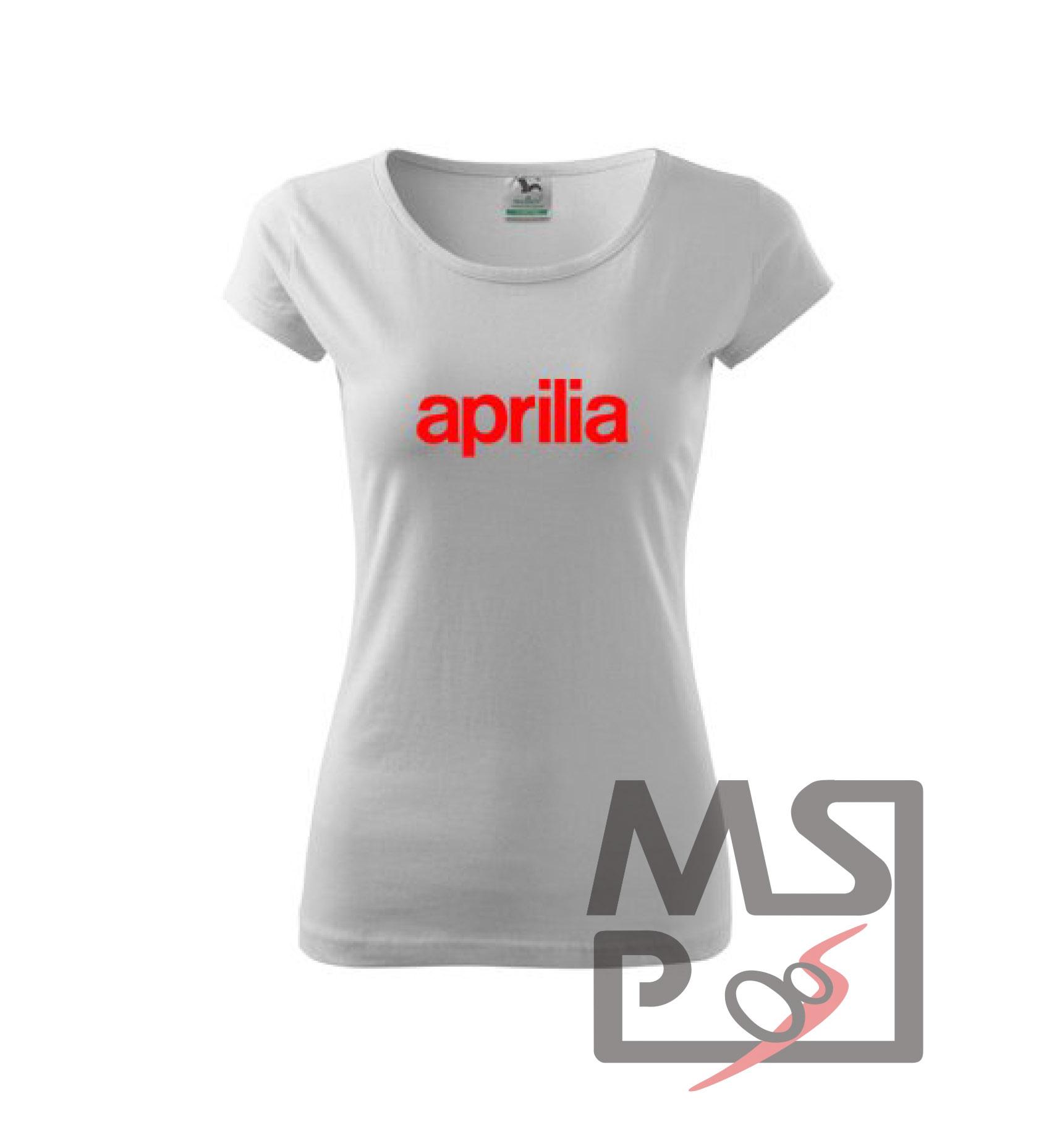 Dámske tričko MSP Aprilia