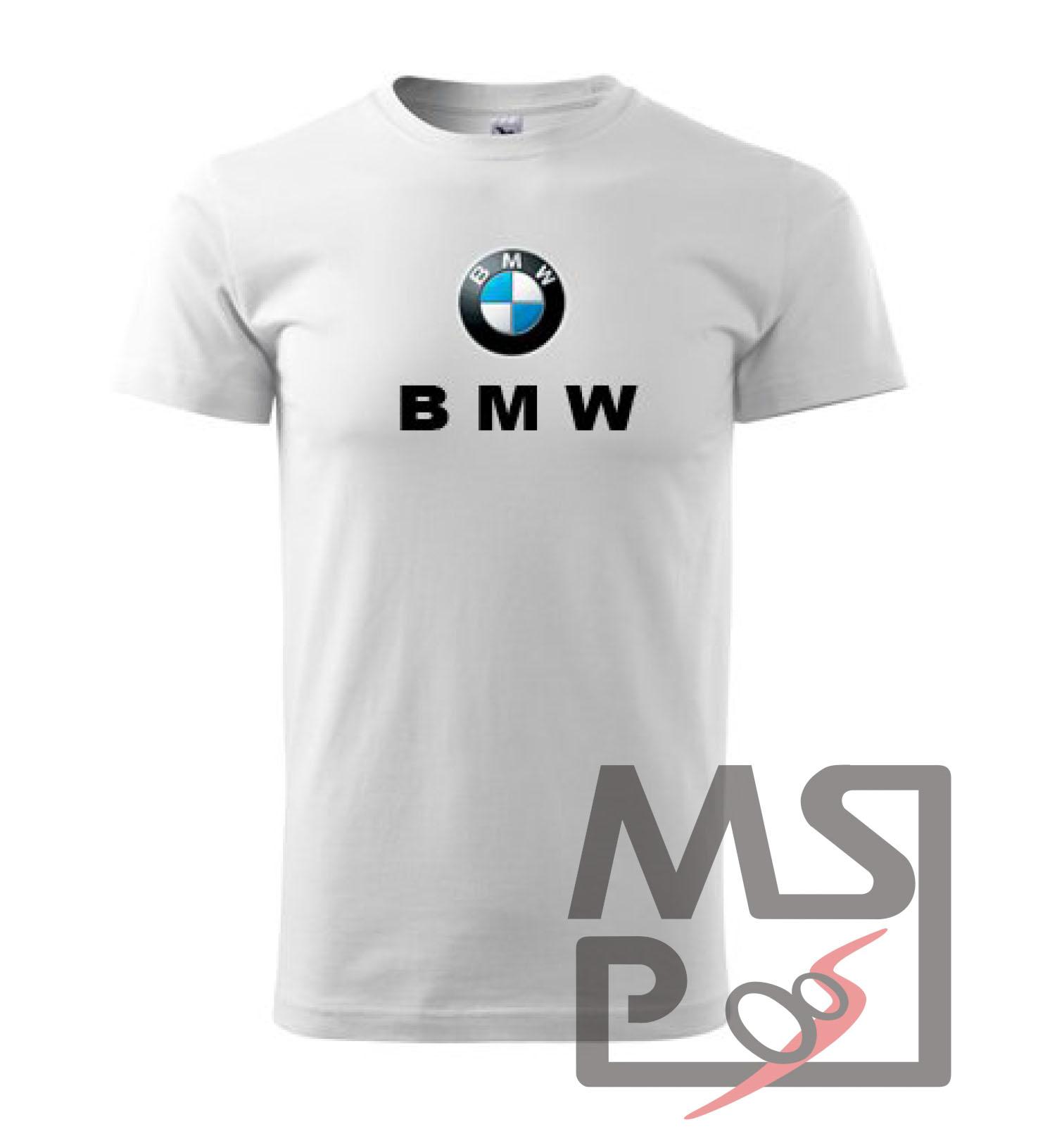 Tričko s motívom BMW
