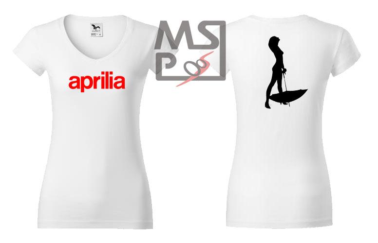 Dámske tričko MSP Aprilia 02