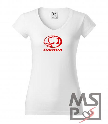 Dámske tričko MSP Cagiva 03