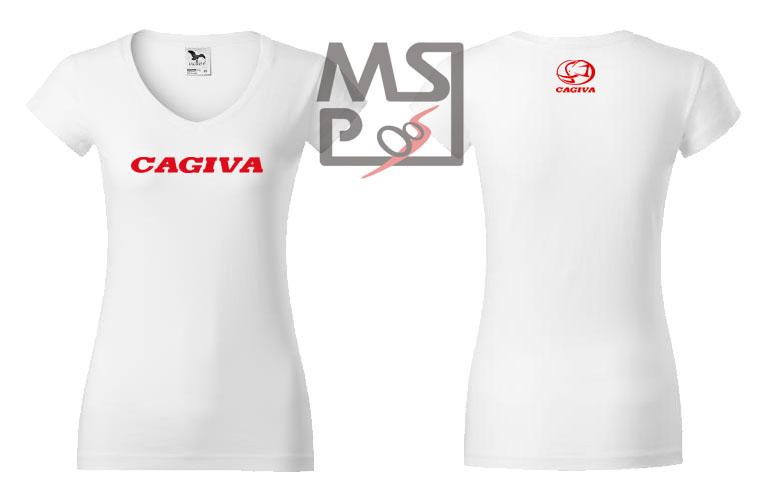 Dámske tričko MSP Cagiva 04