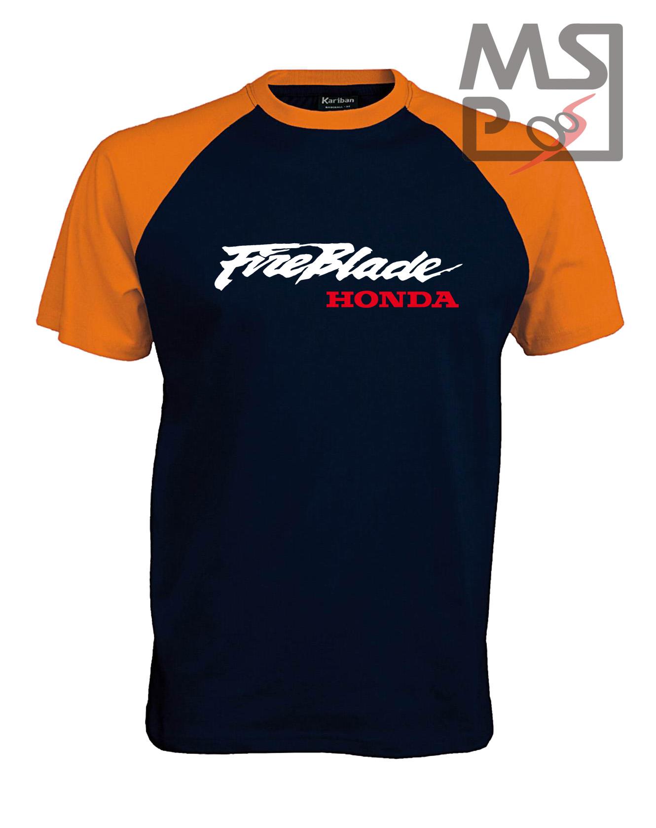 Pánske tričko s moto motívom Honda Fireblade