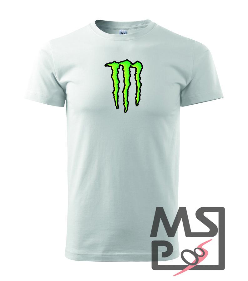 Pánske tričko s moto motívom 206 Monster energy