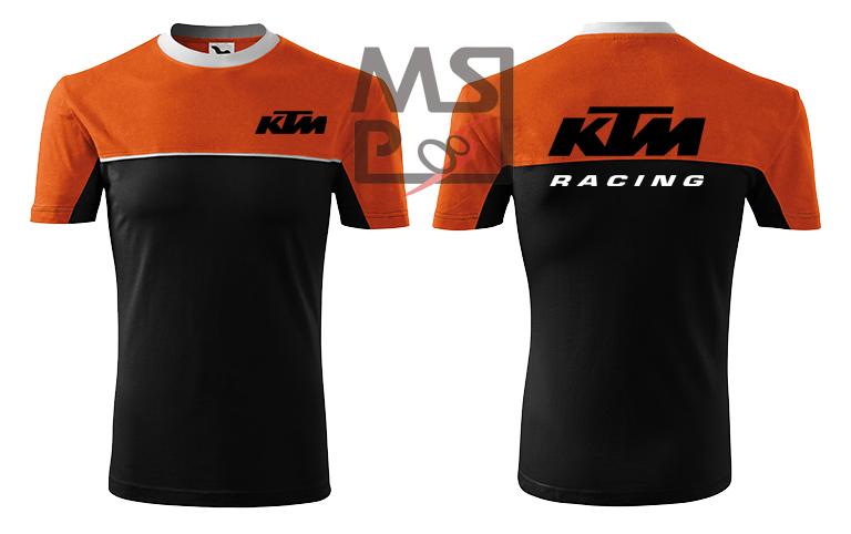 Tričko s motívom KTM Racing