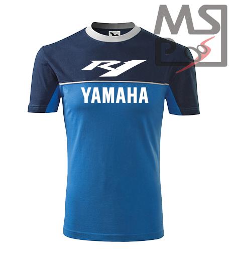 Tričko s moto motívom Yamaha R1