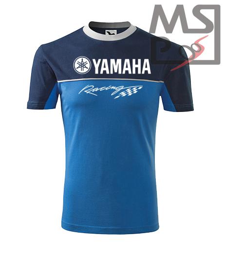 Tričko s motívom Yamaha Racing