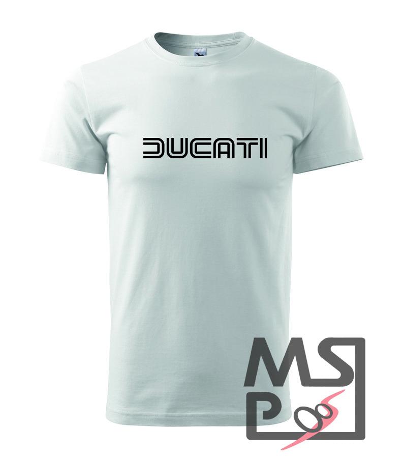 Pánske tričko s motívom Ducati