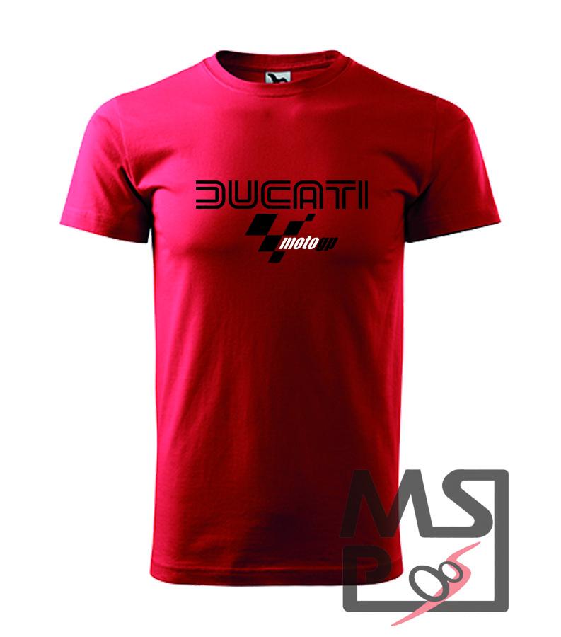 Pánske tričko s motívom Ducati MotoGP