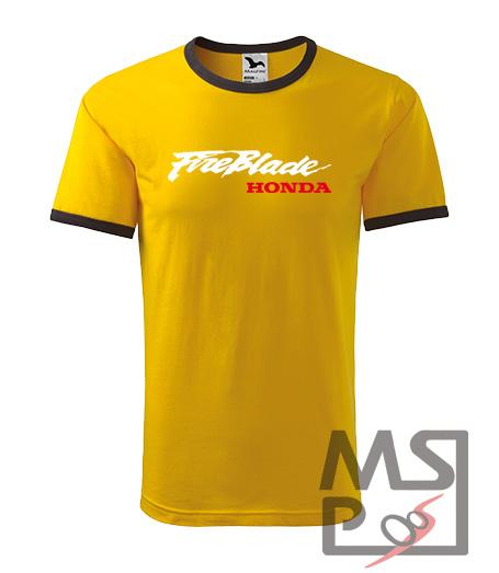 Pánske tričko s moto motívom Honda Fireblade 12
