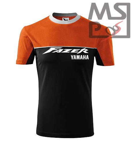 Tričko s moto motívom Yamaha Fazer