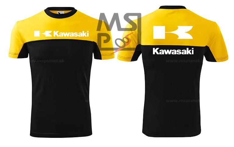 Tričko s motívom Kawasaki