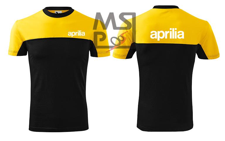 Pánske tričko s motívom Aprilia